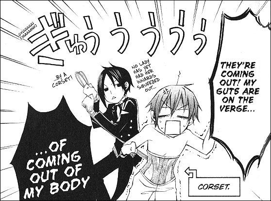 Black Butler Female Porn - Yana Tobaso's Black Butler, in particular, makes use of heavy BL subtext  (as well as actual parody text as illustrated above) to please its female  readers, ...