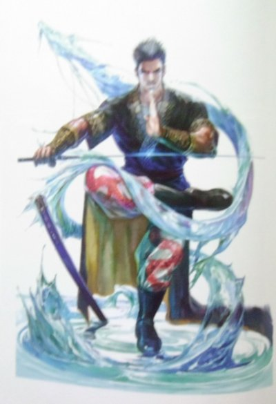 Zhang Sanfeng looks cool with his sword