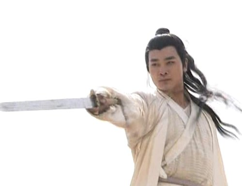 Di Yun gracefully points his sword