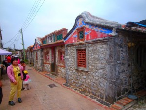 A view of an old village in Wangan, Penghu County.
