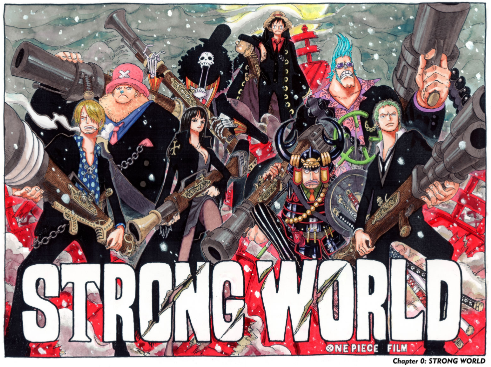 Strong World Color Spread