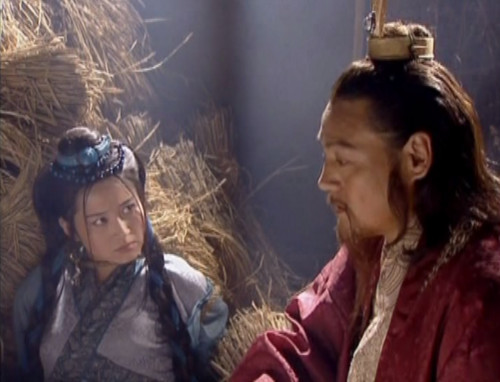 Xu Qing as Ren Yingying and Wei Zi as Yue Buqun