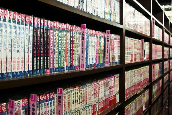 Manga Bookshelf